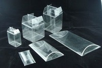 Clear plastic clamshell blister pack for retail packaging