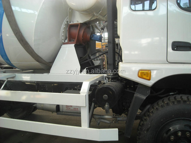 High Efficiency self loading used in Cement Mixing concrete mixer truck price