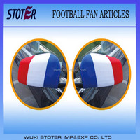 France car mirror flag