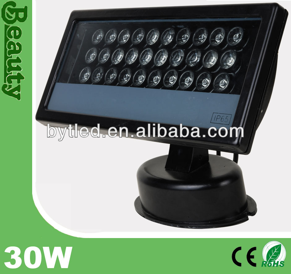 IP65 rgb 30w outdoor led basketball court security led flood lights