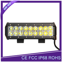 4x4 atv parts off road military vehicle waterproof 12v double row 72w led light bar