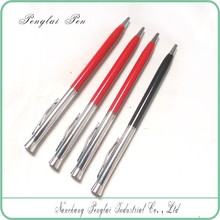 2016 Hot Selling Slim Promotional Metal Cheap slim Ballpen