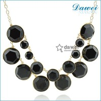 New fashion good ideal teen big choker necklace with big dot pendant