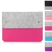 Felt Tablet Package Case For Ipad macbook pro air/mini air case,Wallet Bag For ipad macbook Air Pro 11/13/15Inch Case Cover