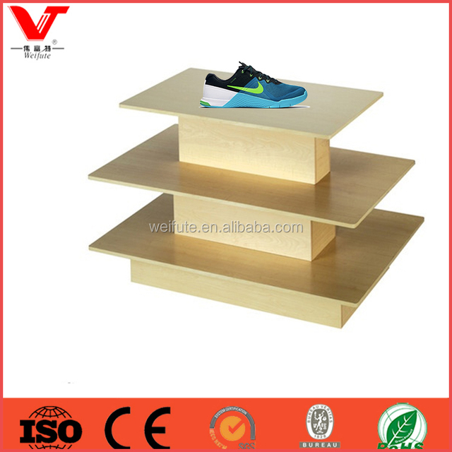 Classic design shoes display rack for shoes shop