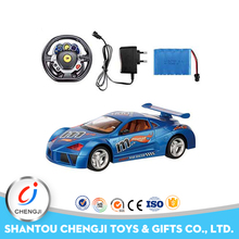 Shantou 1:12 4channel rc toy car with steering wheel for sale