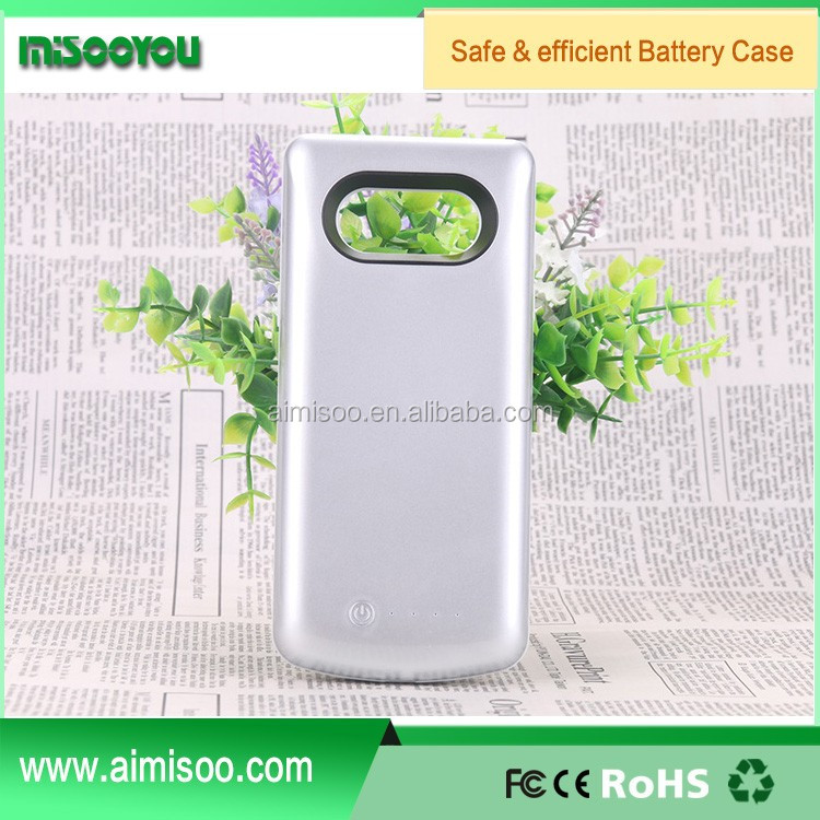 New Arrival 5000mAh external backup mobile phone charger power case for Samsung note 7