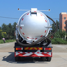 Municipal Equipment Vacuum Sewage Drainage Suction Tanker Truck