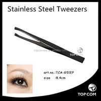 2014 best design stainless steel eyebrow tweezers for lady