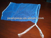 Hot sales small nylon mesh gift bag for shopping and promotiom,good quality fast delivery