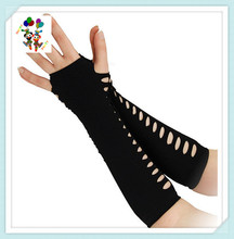 Halloween Goth Vampiress Punk Emo Black Ladder Fancy Gloves HPC-2469