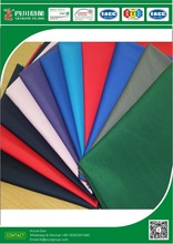 Polyester Cotton Spandex fabric T65/C35 20*16+70D 100*53 TWILL 3/1 Plain dyed WORKWEAR FABRIC