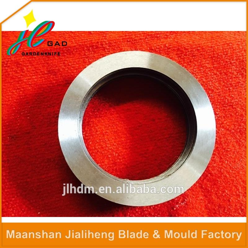 Popular rotary roller shearing machine blades for bar cutting machine