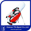 PU material unique golf bags,golf stand bag for sale