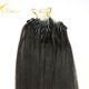Wholesale 100% unprocessed virgin brazilian fusion keratin micro loop hair extensions italian yaki hair