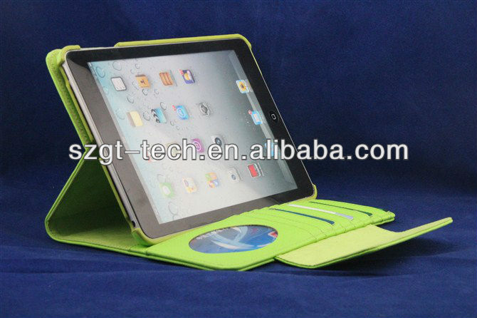 Hot Selling For ipad mini case with wallet,many colors available