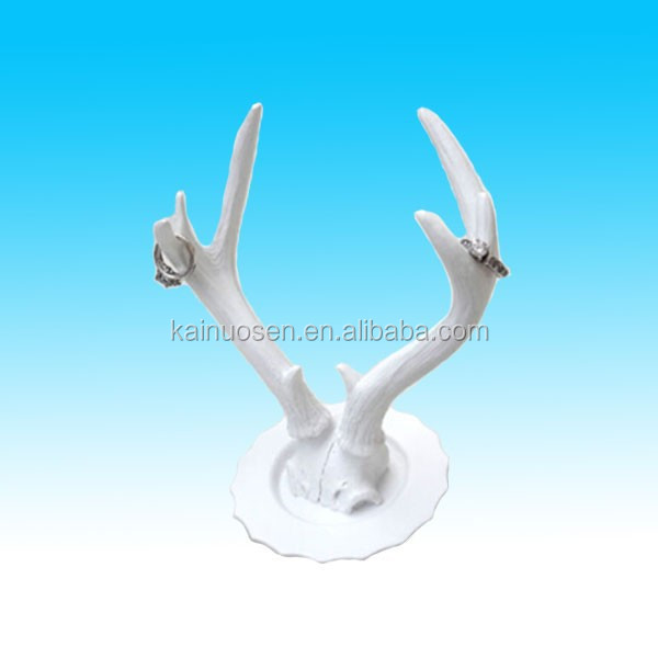 Fashion Deer Antler Polyresin Jewelry Holder/Ring Stand /wall hanging