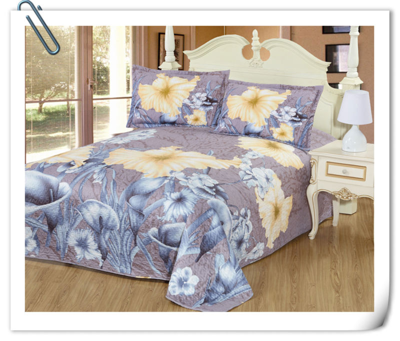 High quality 100% cotton woven luxury king queen bedding bedspreads