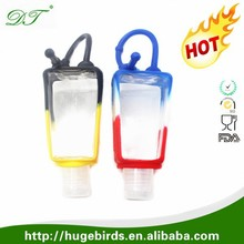 Wholesale 30ML Silicone Antibacterial Gel Hand Sanitizer Holder