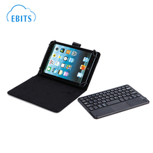 2016 new product Ultra-Thin PU Leather DETACHABLE Bluetooth Keyboard Stand Case