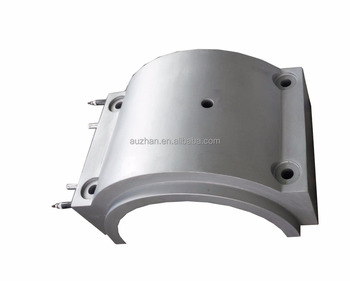 water/oil cooling cast aluminum Heater for extruder machine