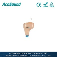 AcoSound Acomate 210 Instant Fit Voice Top Quality Wholesale Digital Hearing Aid CIC For Deaf Ear