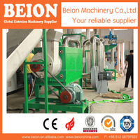 BM500 PP PE FILM PLASTIC RECYCLING LINE FOR GRANULES PROCESS