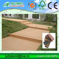 Europe style Waterproof Wood Plastic Composite decking Anti UV WPC