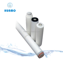 filter cartridge making machine/PP pleated inline water filter& cartridge for RO system,DI water