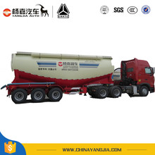 Air Compressor Dry Bulk Cement Tank Semi Truck Trailer