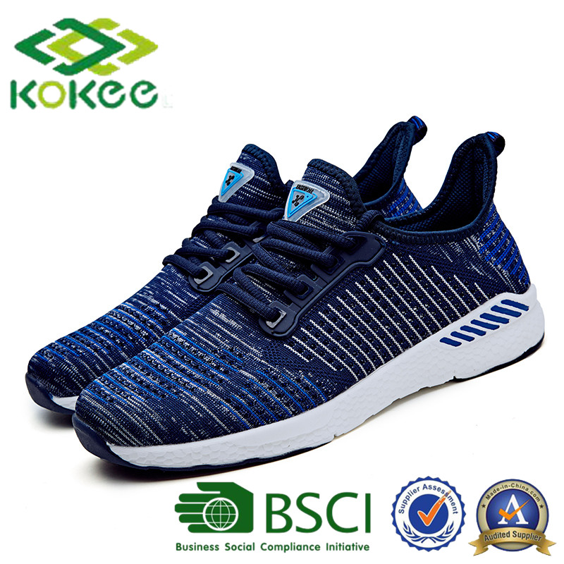 new arrival fashion design mesh Running Sneaker sport casual shoes for men