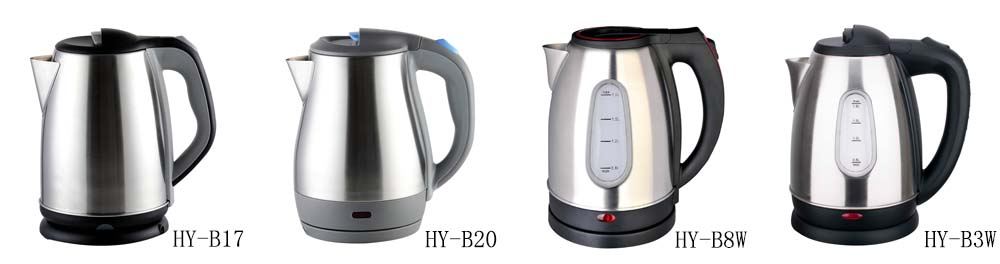 Mini electric kettle with CE,CB,GS and cordless design plastic material 1.0L