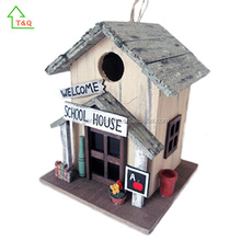 American Charming Detailed Wooden Bird House