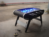 professional soccer table/coin operated soccer table