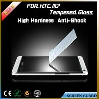 SGS/ISO9001/ROHS tempered glass screen film/protector for HTC One M7