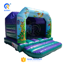 Factory price jungle inflatable bouncer castle, funny jumping bounce house,commercial inflatable jumper for sale