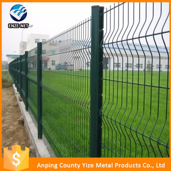 Alibaba China Wholesale Products Gold Supplier Curve Fencing/Welded Wire Mesh Fencing/wpc Fence Whole Production Line
