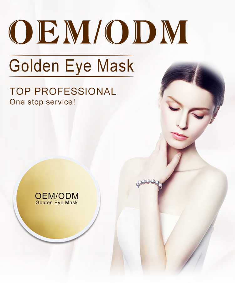Hot sale Private Label Crystal Collagen Gold Eye Pads Patch Mask Anti Wrinkle Aging Eye Gel Mask