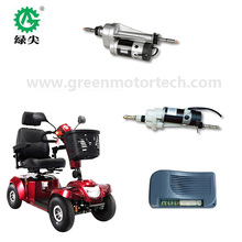 elderly scooter, golf cart,800W 24V electric DC motor driving rear axle