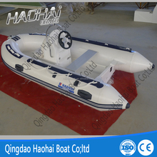 High quality RIB 360cm PVC material inflatable rib speed boat for sale