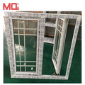 Hot sale upvc window and door upvc windows with grill