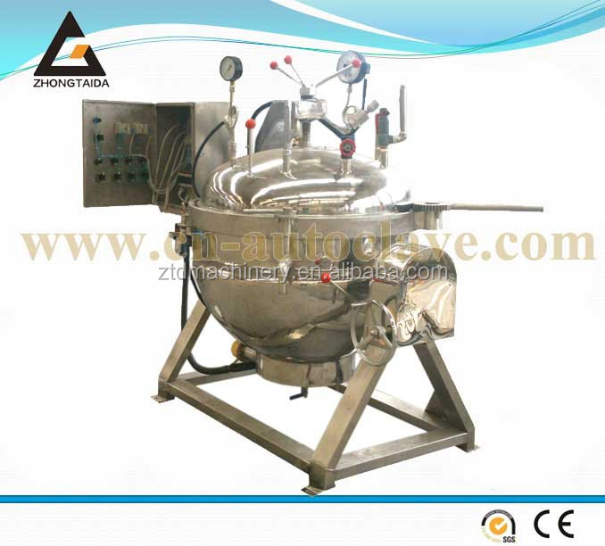 Industrial Steam Cooking Pot