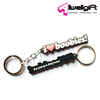Promotion Giveaways Custom Slogan Soft PVC Keychain