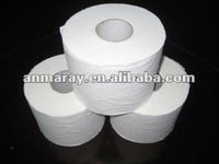 Flowered recycle toilet tissue