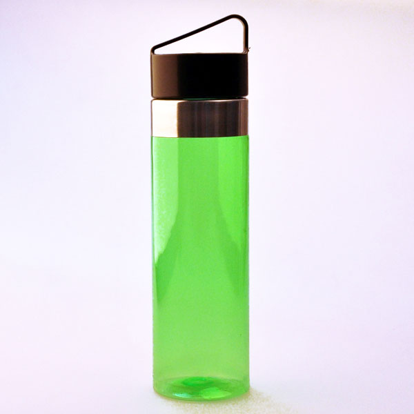Wholesale metal ss Leak Proof Sport Water Bottles with hand top