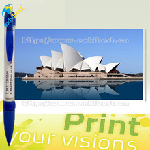 Hot selling cheap promotional plastic banner ballpoint pen brands for sale
