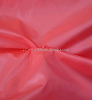 Polyester taffeta pvc coated polyester taffeta fabric with Pu coating polyester for sofa cover