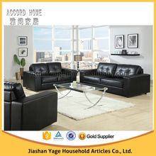 High quality factory price Living room home furniture leather sectional sofa free shipping to your port