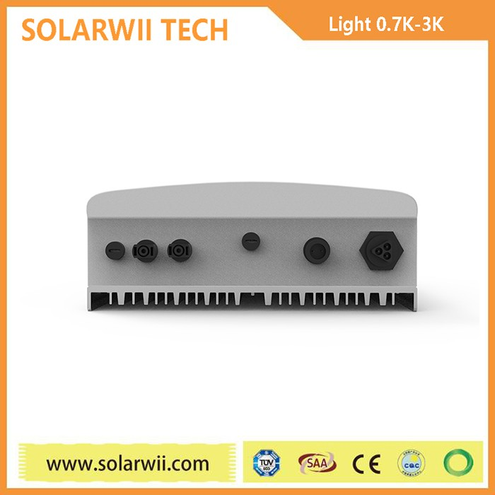 Solarwii Light Series solar hybrid inverter 24v 230v 1kva with 25A mppt | solar hybrid inverter