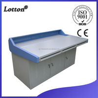 Stainless steel operator console